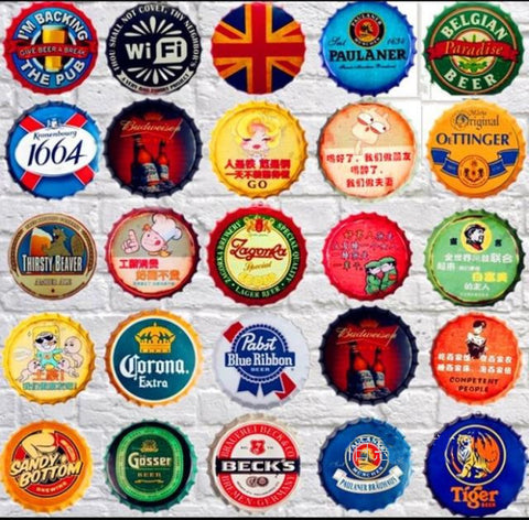 Jumbo 14 Inch Beer Bottle Caps