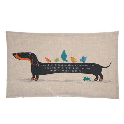 DACHSHUND DOG CUSHION COVER