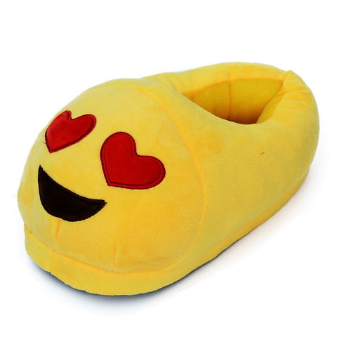 Adult Unisex Emoji Slippers