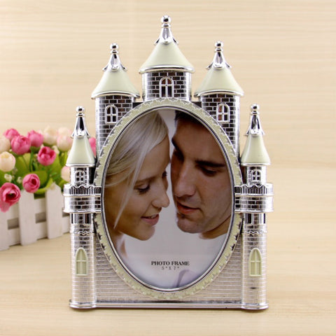 Vintage Castle Photo Frame