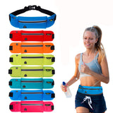 RUNNERS COMFORT SLIM FANNY PACK WITH HEADPHONE OUTLET
