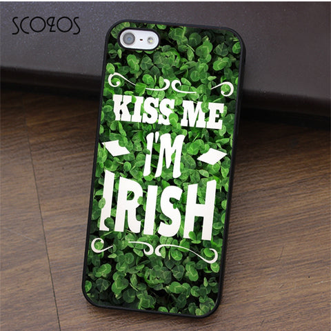 Kiss Me I'm Irish Iphone Case
