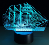 Sailing Ship LED Night Light