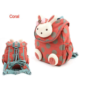 3D Rabbit, Drawstring Backpack, Girls, School, 3D