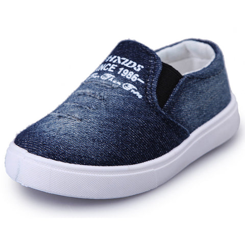 Children Loafers Shoes, Boys Canvas, Casual Shoes, Sneakers Fashion Kid, Flat, Sylish