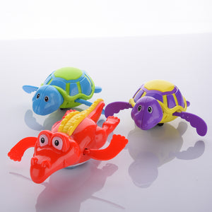 Baby Bath Swimming Toys, Wind Up Clockwork Play, Fun Animals