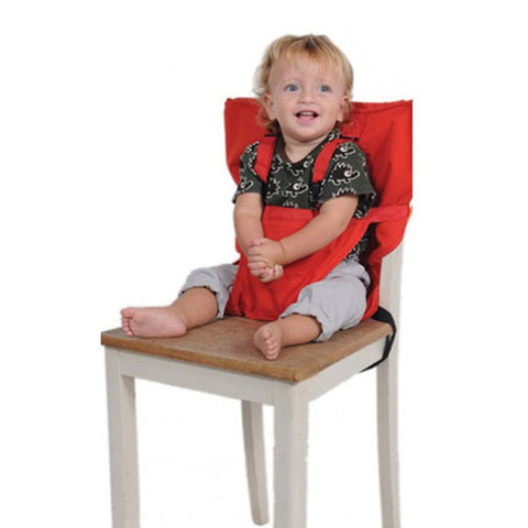 Baby Chair Portable Safety, Seat Belts, Folding, Dining Feeding Kids Product, Lunch Chair