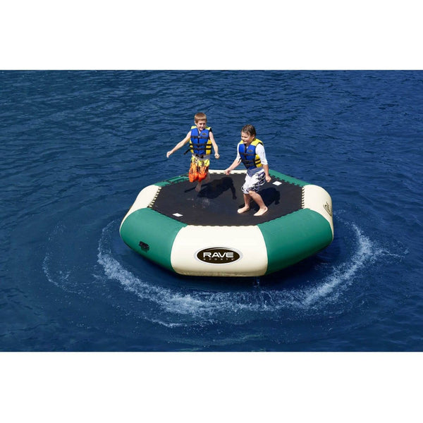 10' Bongo Springless Water Bouncer in Northwoods-RAVE Sports-YardKid