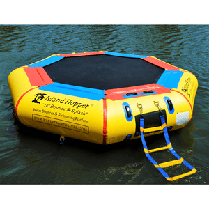 10' Bounce N Splash Springless Water Bouncer