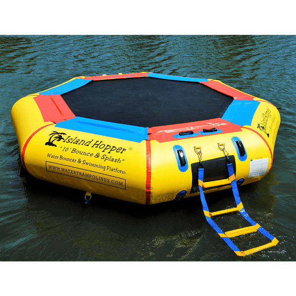 10' Bounce N Splash Springless Water Bouncer-Island Hopper-YardKid
