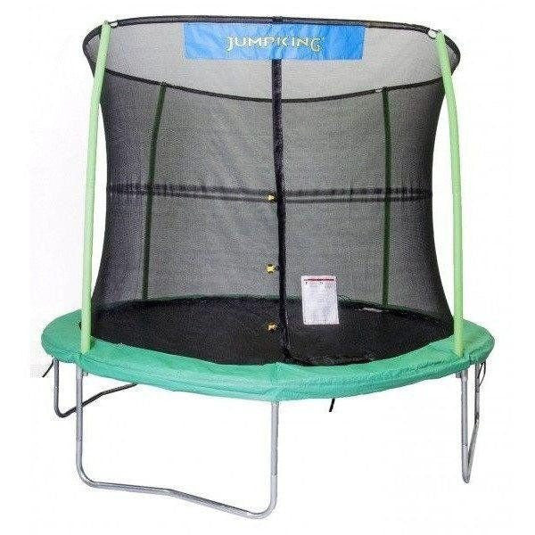 10' Round Trampoline with Enclosure-Jumpking-YardKid