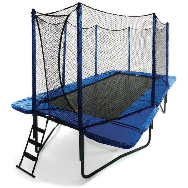 10x17 Rectangle StagedBounce Trampoline with Enclosure-JumpSport-YardKid