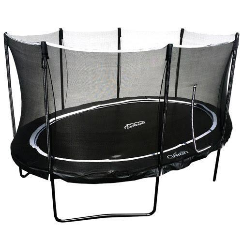 11x16 Orion Oval Trampoline with Enclosure-SkyBound-YardKid