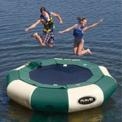 12' Aqua Jump Eclipse 120 in Northwoods-RAVE Sports-YardKid