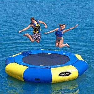 12' Aqua Jump Eclipse 120 in Yellow / Blue