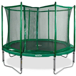 12' JumpFree Round Trampoline with Enclosure