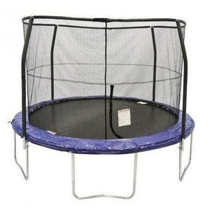 12' Round Trampoline with Enclosure