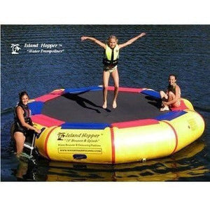 13' Bounce N Splash Padded Springless Water Bouncer