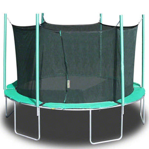 13'5 SportsTramp Extreme Round Trampoline with Detachable Cage