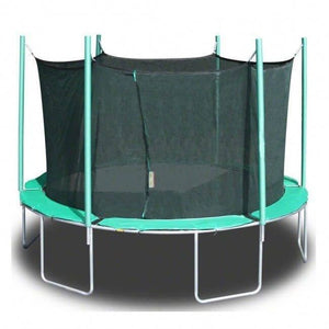 13'6 Magic Circle Round Trampoline with Enclosure