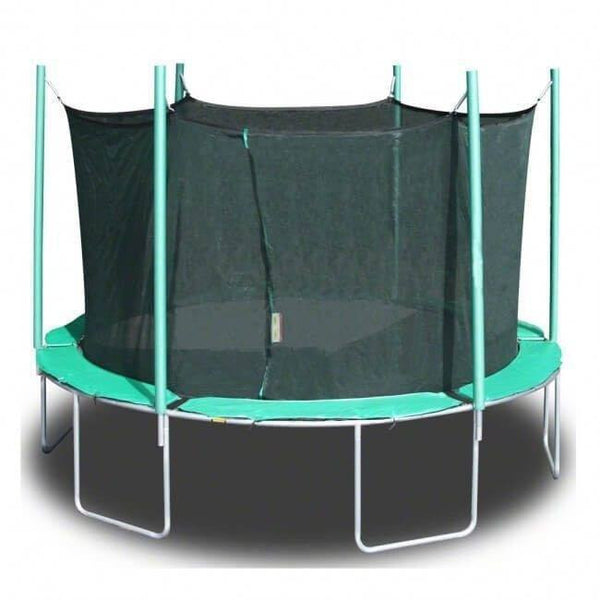 13'6 Magic Circle Round Trampoline with Enclosure-KidWise-YardKid