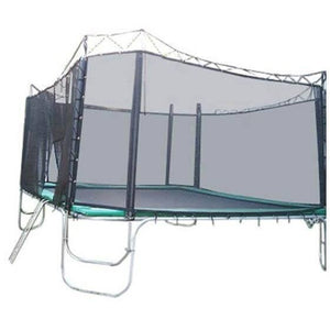 13x13 Square Texas Trampoline with Enclosure