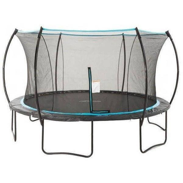 14' Cirrus Round Trampoline with Enclosure-SkyBound-YardKid