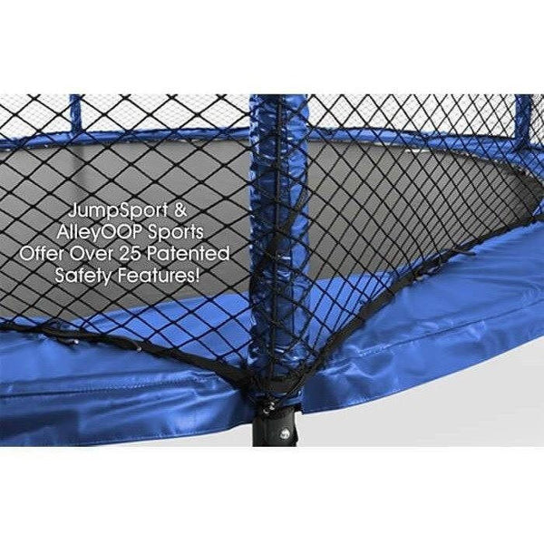 14ft SoftBounce Round Trampoline By JumpSport 637602212410