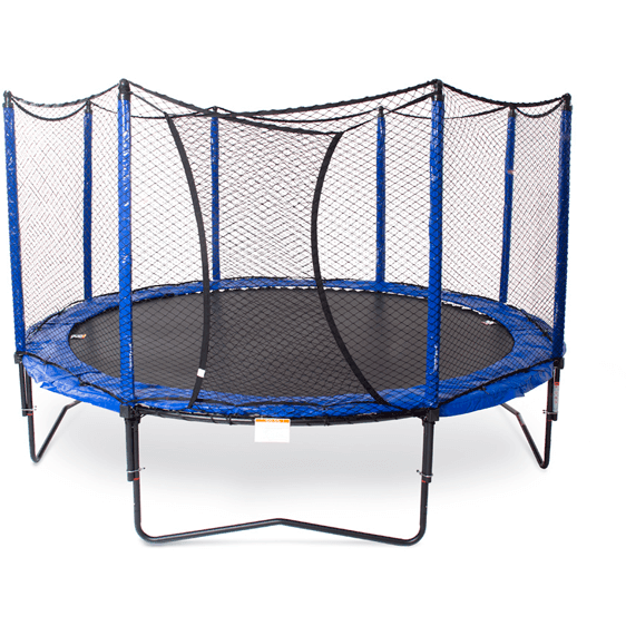 14' StagedBounce Round Trampoline with Enclosure-JumpSport-YardKid
