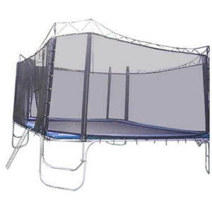 15x15 Square Texas Trampoline with Enclosure