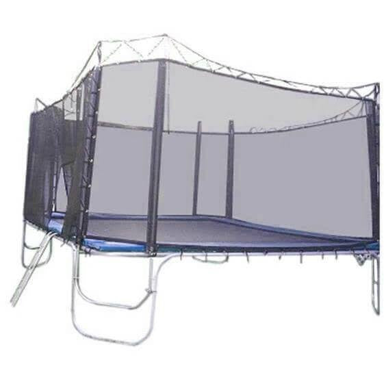 15x15 Square Texas Trampoline with Enclosure-Texas Trampoline-YardKid
