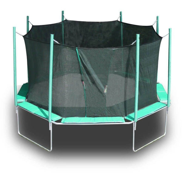 16' Magic Circle Octagon Trampoline with Enclosure-KidWise-YardKid