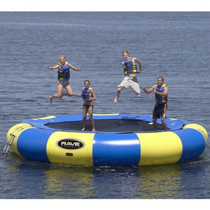 20' Aqua Jump Eclipse 200 in Yellow / Blue