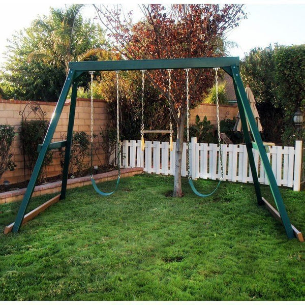 3 Position Swing Set - Congo Swing Central-KidWise-YardKid