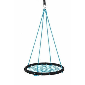 "40"" Giant Round Tree Swing - Black & Blue"