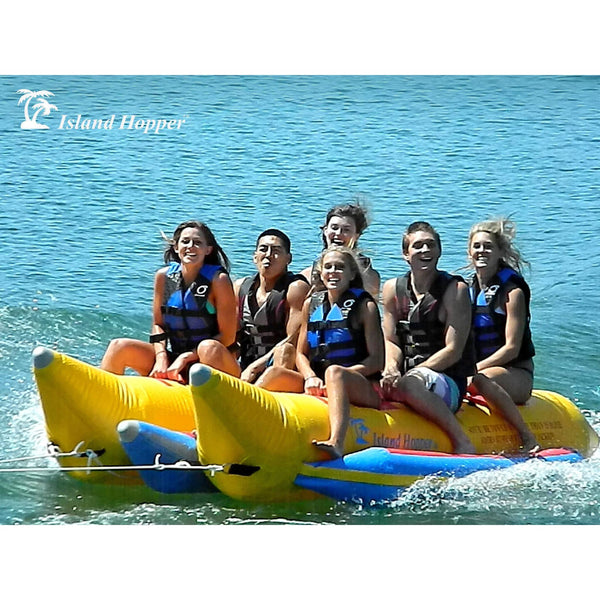 "6 Passenger Banana Boat ""Elite Class"" (Side-by-Side)-Island Hopper-YardKid"