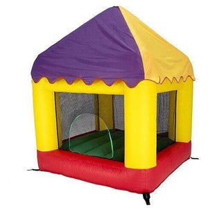 6.25' X 6' Bounce House Combo with Circus Cover