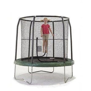 7.5' Round Trampoline with Enclosure