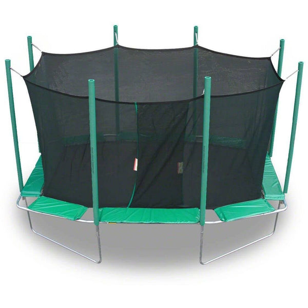 9x14 Magic Circle Rectagon Trampoline with Enclosure-KidWise-YardKid