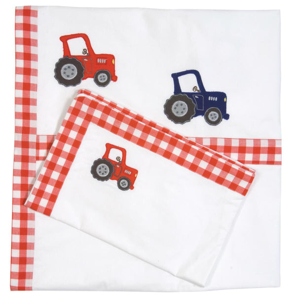Barn Duvet Cover Set-Win Green-YardKid