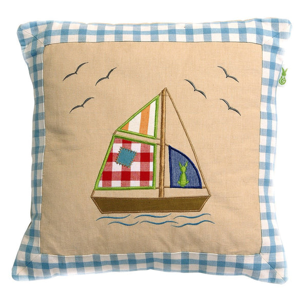 Beach House Cushion / Pillow Cover-Win Green-YardKid
