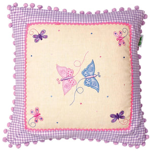 Butterfly Cottage Cushion / Pillow Cover