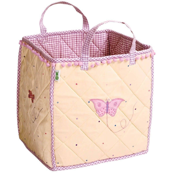Butterfly Cottage Toy Bag-Win Green-YardKid