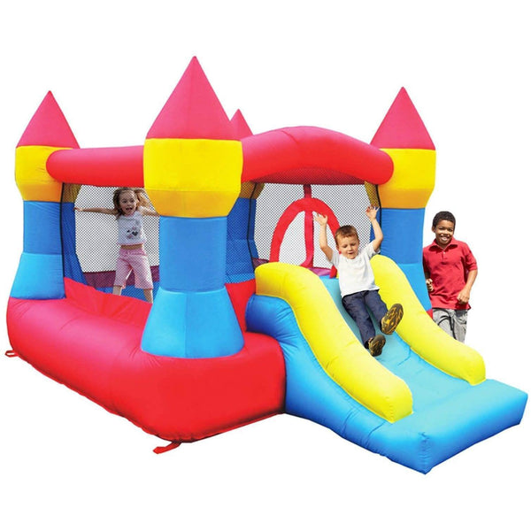 Castle Bounce House with Slide-KidWise-YardKid