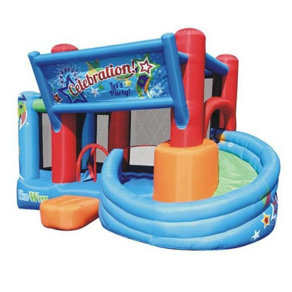 Celebration Bounce House with Tower Slide-KidWise-YardKid
