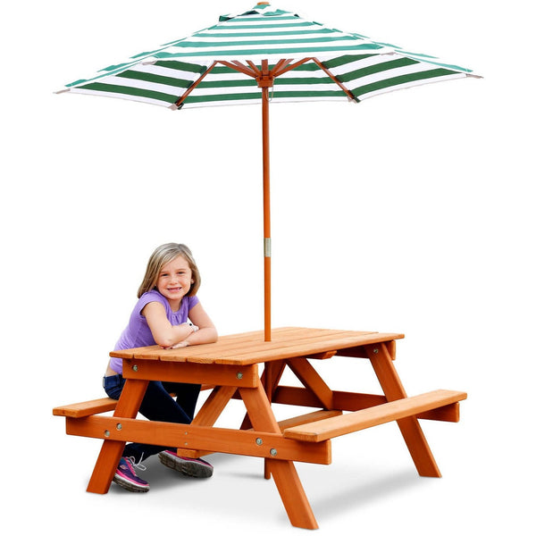 Childrens Picnic Table-Gorilla Playsets-YardKid