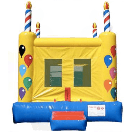Commercial Birthday Cake 2 Bounce House-Happy Jump-YardKid