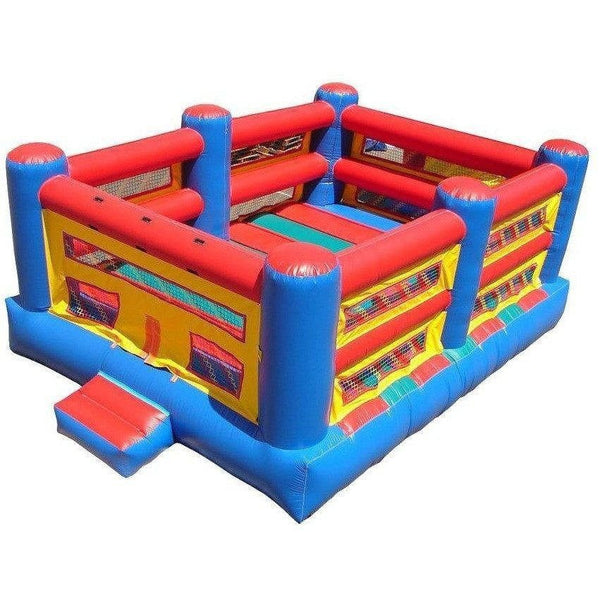 Commercial Boxing Ring Bounce House-Happy Jump-YardKid