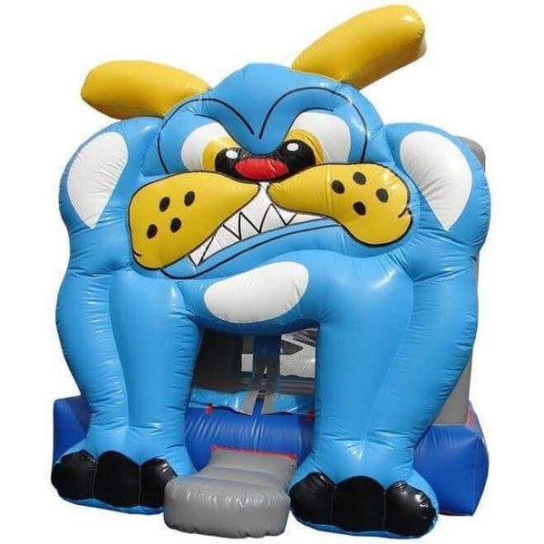 Commercial Bulldog Bounce House-Happy Jump-YardKid