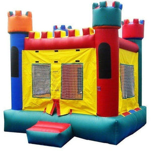 Commercial Castle 1 Bounce House